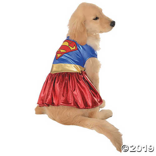 Supergirl Pet Costume - Medium