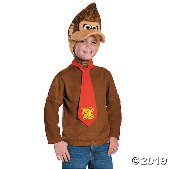 Kid's Donkey Kong Costume Kit