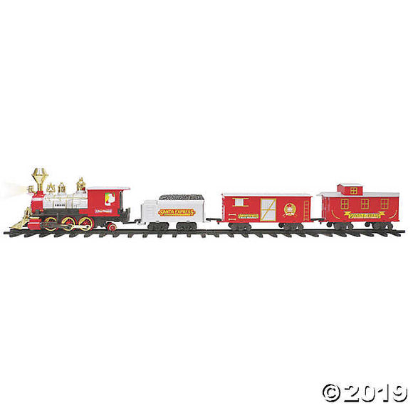 Santa's Jumbo Express Train Set