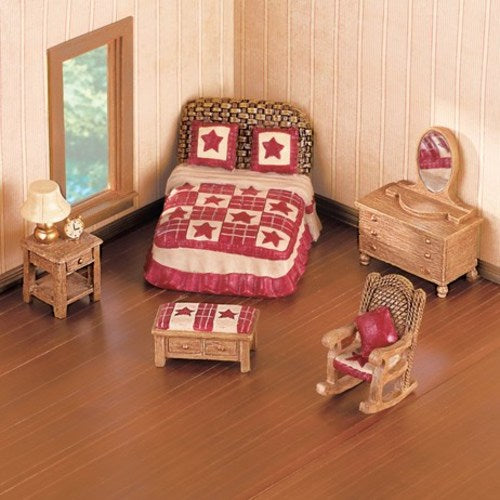 Miniature Country Star Bedroom Furniture Set