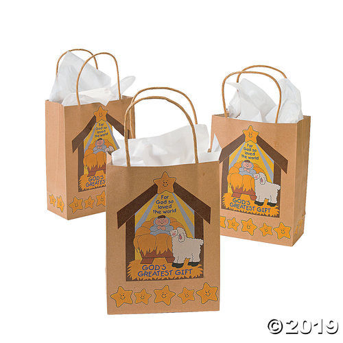 Medium God's Greatest Gift Gift Bags