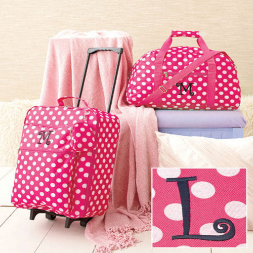 3-Pc Girl's Monogram Letter