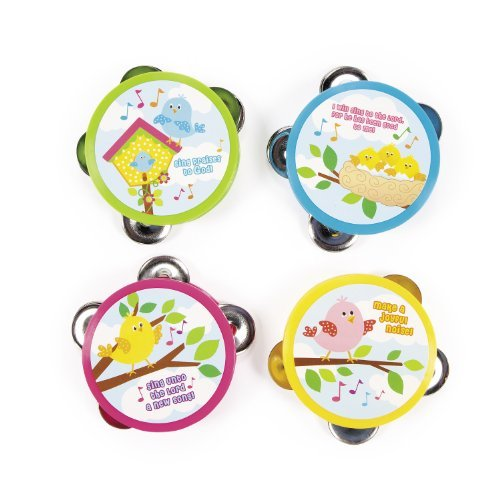 Make a Joyful Noise Tambourines (1 dz)