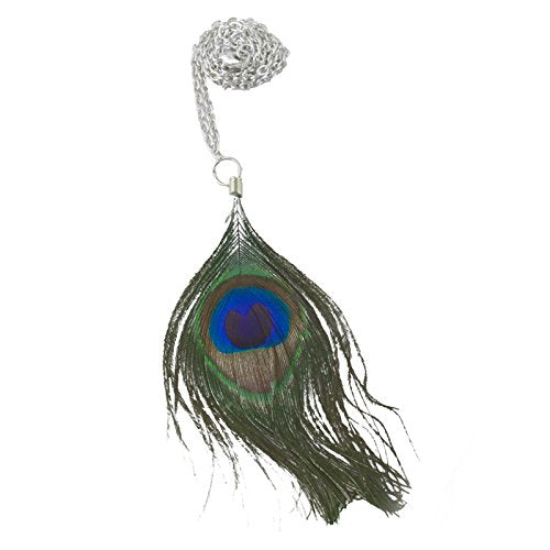Peacock Feather Necklace Arts, Crafts & Sewing