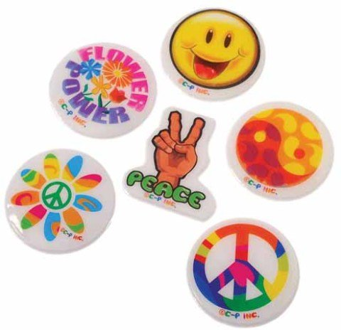 US Toy - Retro Puffy Stickers