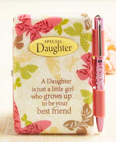 Sentiment Flip Pad with Pen ( Daughter )