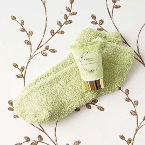 Cozy Sock and Lotion Gift-Boxed Sets-Coconut Lime