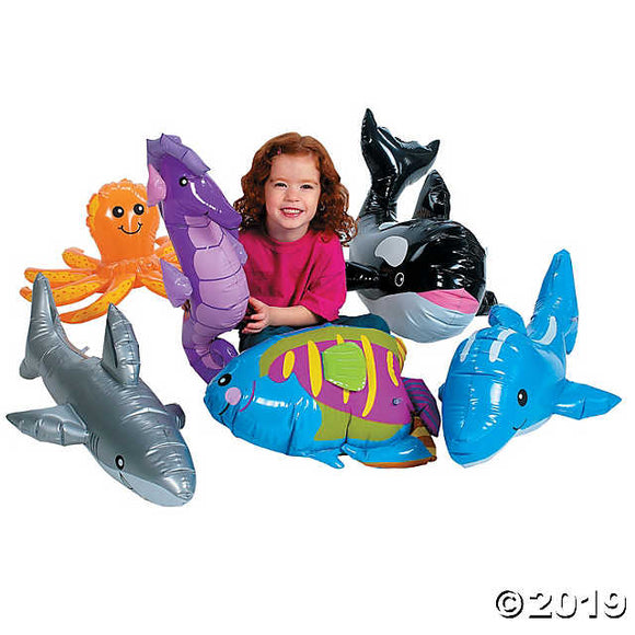 Large Inflatable Under the Sea Animals