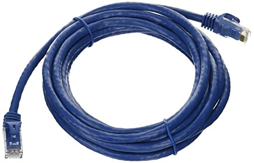 10-Feet FLEXboot Series 24AWG Cat6 550MHz UTP Ethernet Bare Copper Network Cable, Blue (109808)