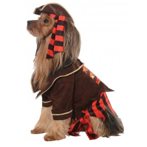 Rubies Pirate Boy Dog Costume - Small