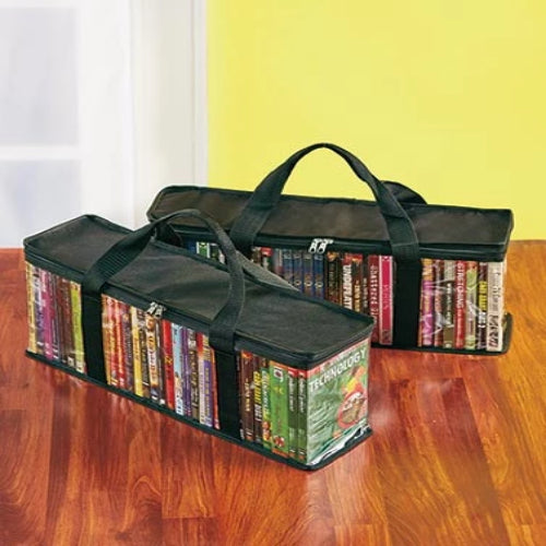 Set of 2 DVD Storage Bags