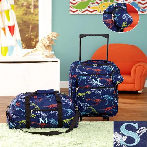 The  3pc Boys Monogram Luggage Sets S