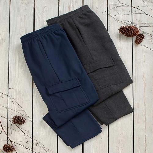 The  Set of 2 Cargo Pocket Pant - Navy/Charcoal M 32/34