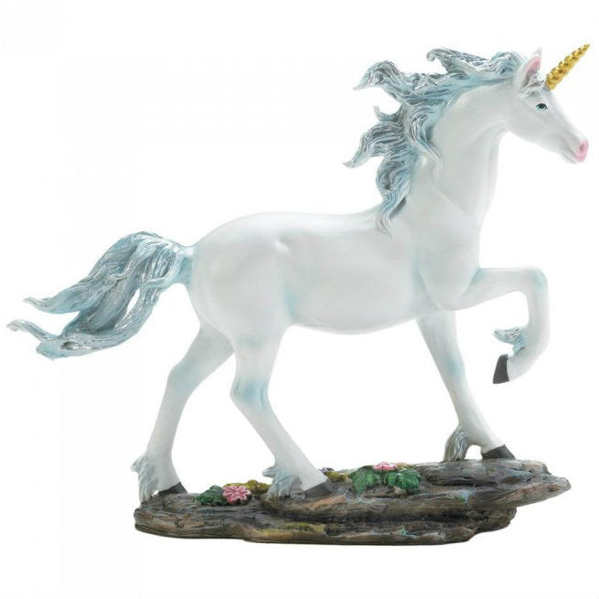 7.5 Inch White Fantasy Unicorn Figurine