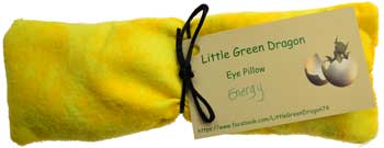 AzureGreen Magical Supplies Energy Relaxing Healing Eye Pillow with Lemon Verbena Eucalyptus