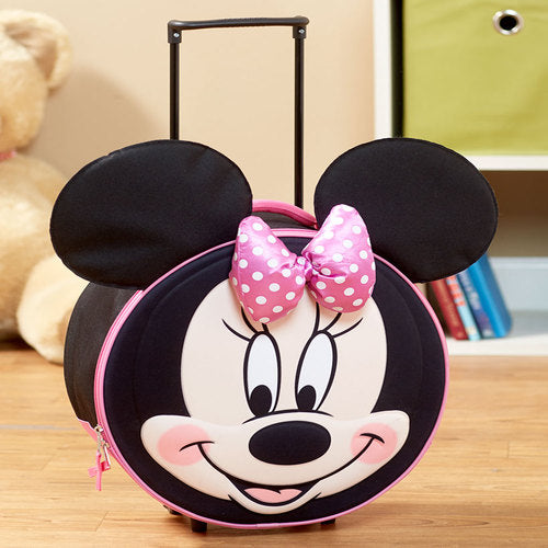 The  Kids' Molded Minnie Mouse Luggage