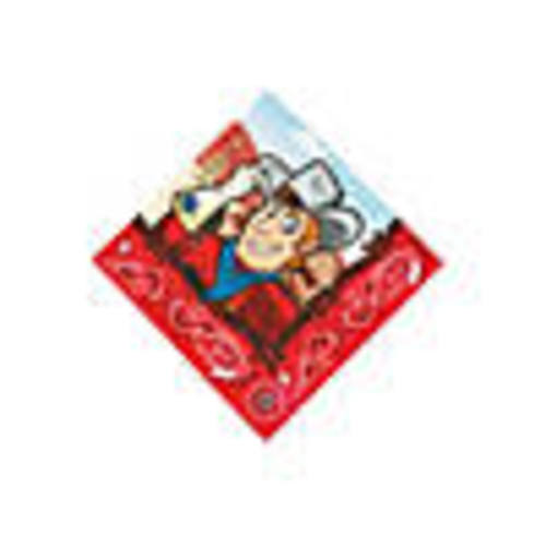 Western Party Beverage Napkins
