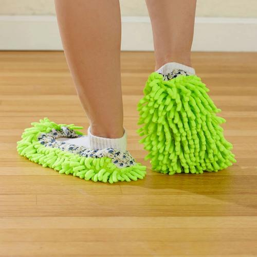 The  2-Pr. Dusting Slippers