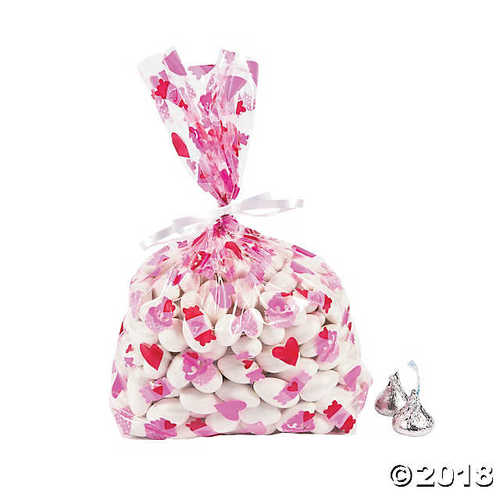Love is Sweet Cellophane Bags
