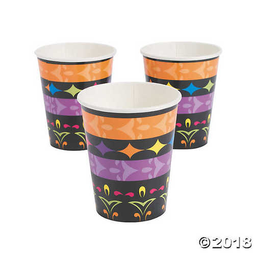 Fun Express Day Of The Dead 9oz Cups