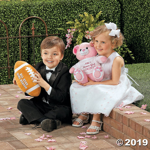 All Star Ring Bearer Plush Football
