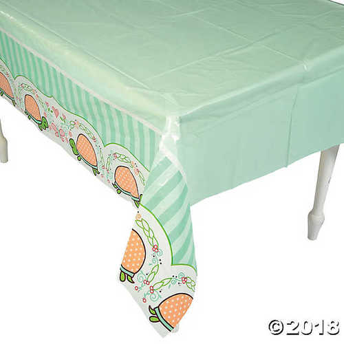 Girl Turtle Tablecloth