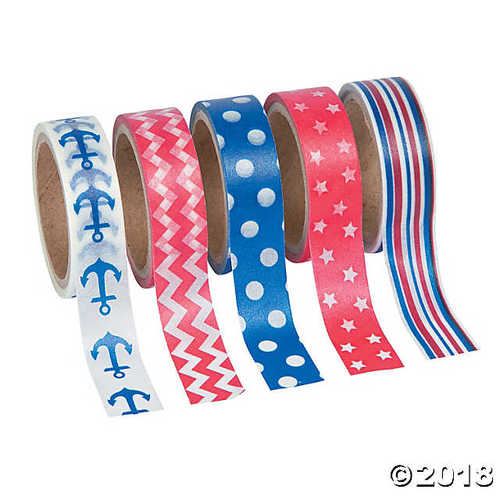 Nautical Washi Tape Set