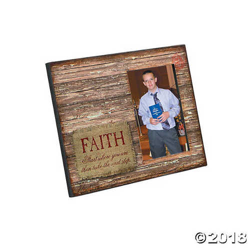 Rustic Faith Picture Frame