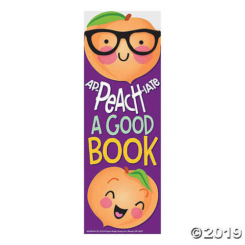 Peach-Scented Bookmarks