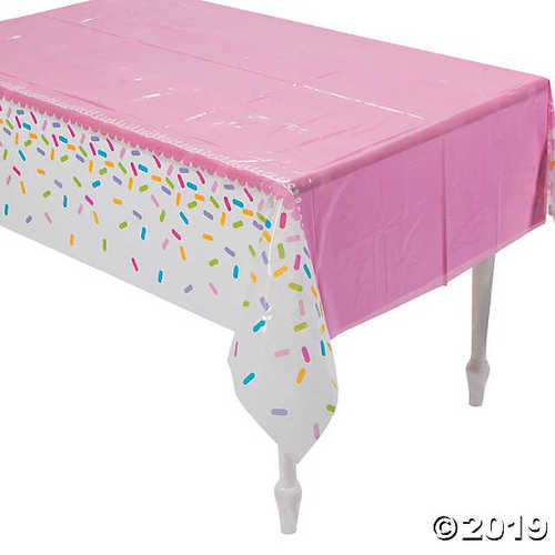 Cupcake Party Printed Tablecover