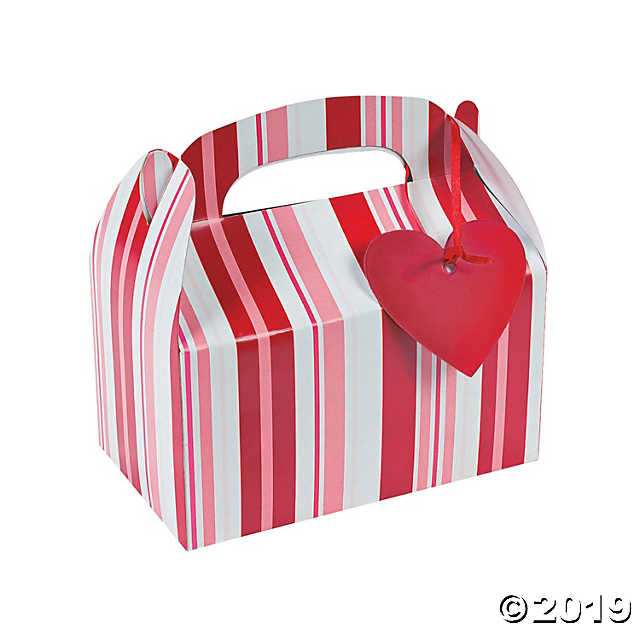 Valentine Favor Boxes with Tags