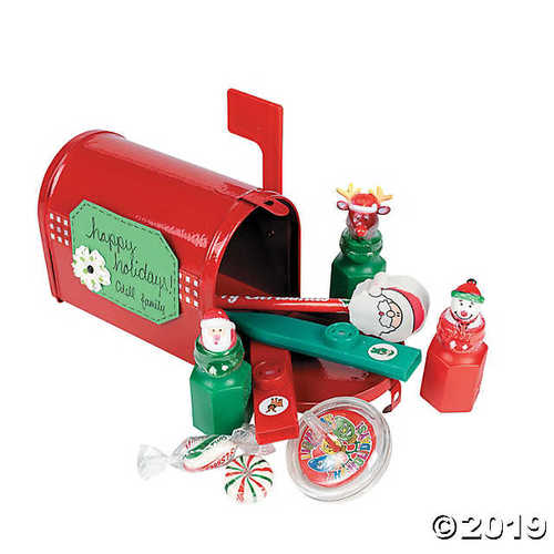Little Red Tinplate Mailbox