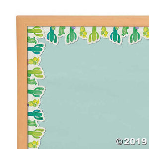 Cactus Bulletin Board Borders