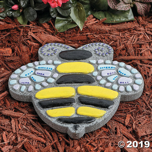 Paint Your Own Stepping Stone: Bee