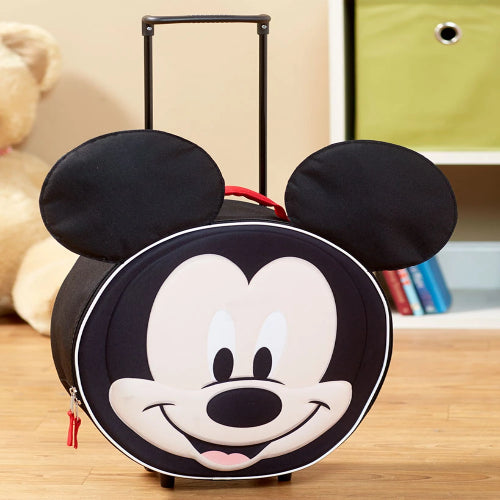 Disney Kids' Molded Rolling Luggage-Mickey Mouse