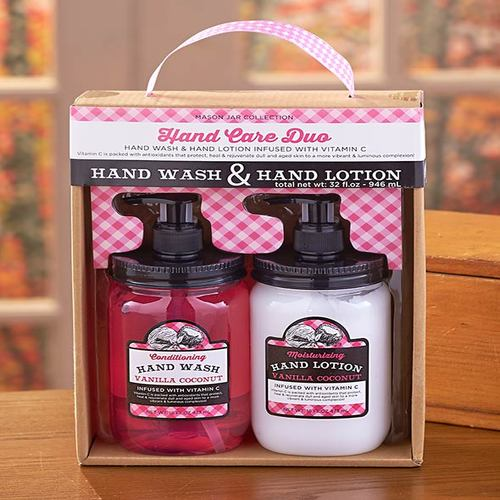 Mason Jar Soap and Lotion Sets-CCN