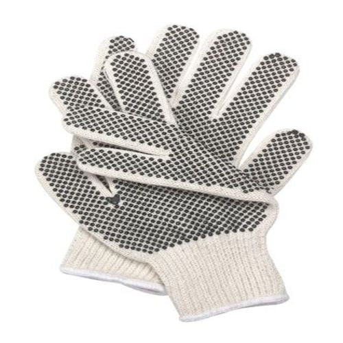 Knit Dotted Glove, Poly/Cotton, S, PR