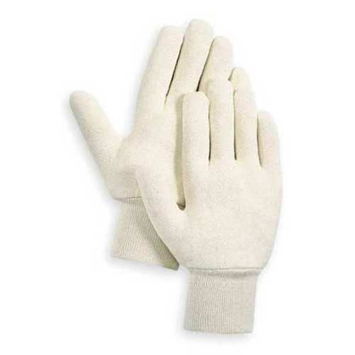 Jersey Gloves, Cotton, S, White, PR