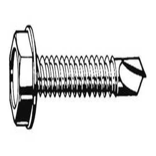 "Self Drilling Screw, #10-16, 1"" L, PK 100"