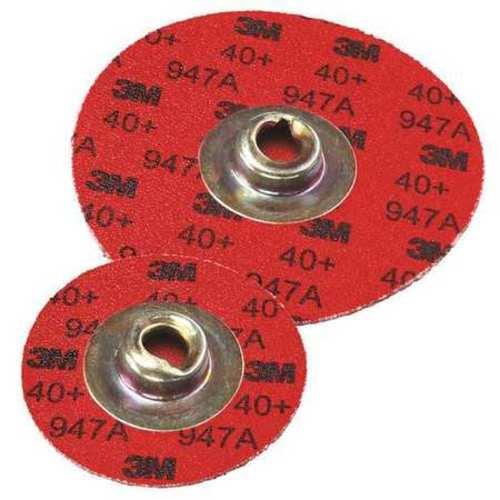 Abrasive Disc, 40 Grit, 947A, 1-1/2in