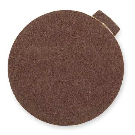 PSA Sanding Disc, AlO, Cloth, 2in, 80 Grit