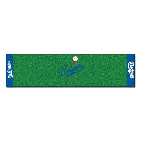 MLB - Los Angeles Dodgers Putting Green Mat 18