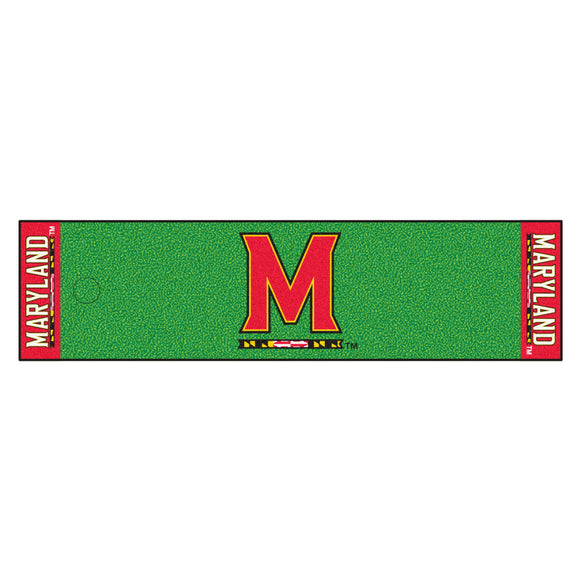 University of Maryland Putting Green Mat 18