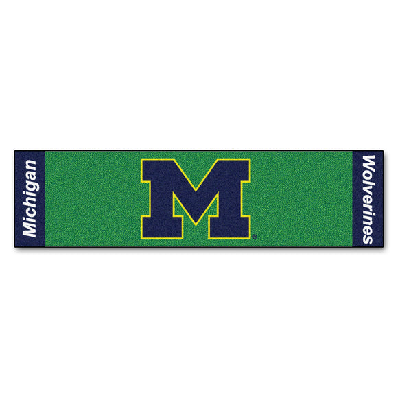 University of Michigan Putting Green Mat 18