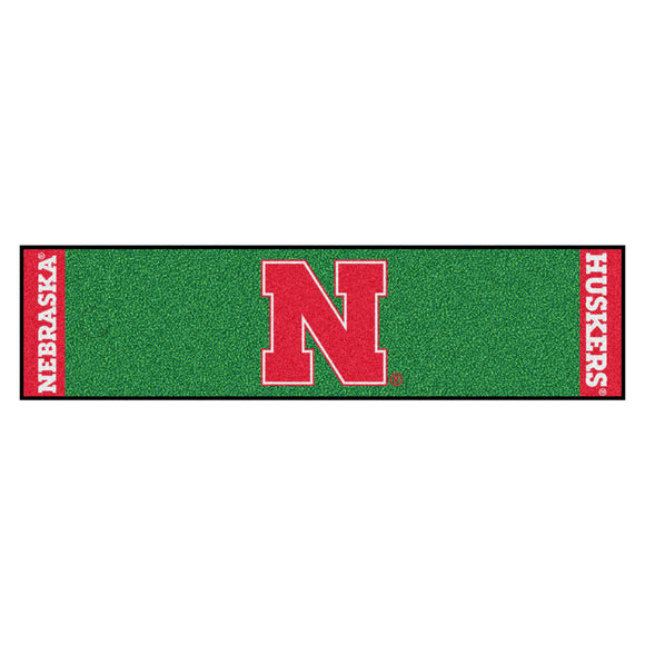 University of Nebraska Putting Green Mat 18