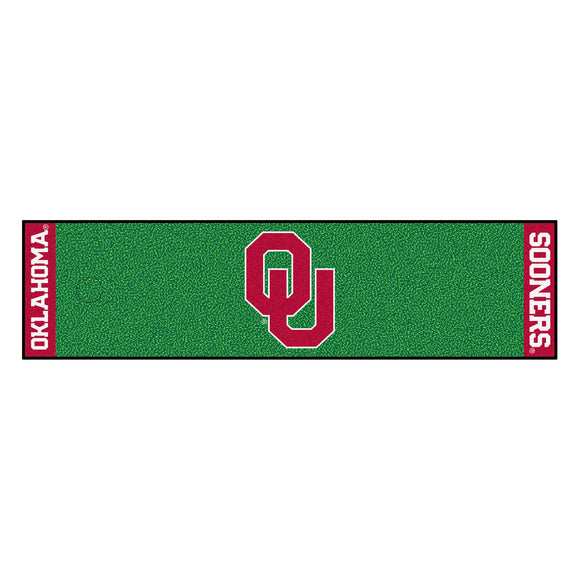 University of Oklahoma Putting Green Mat 18