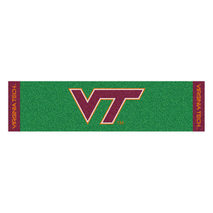 "Virginia Tech Putting Green Mat 18""x72"""