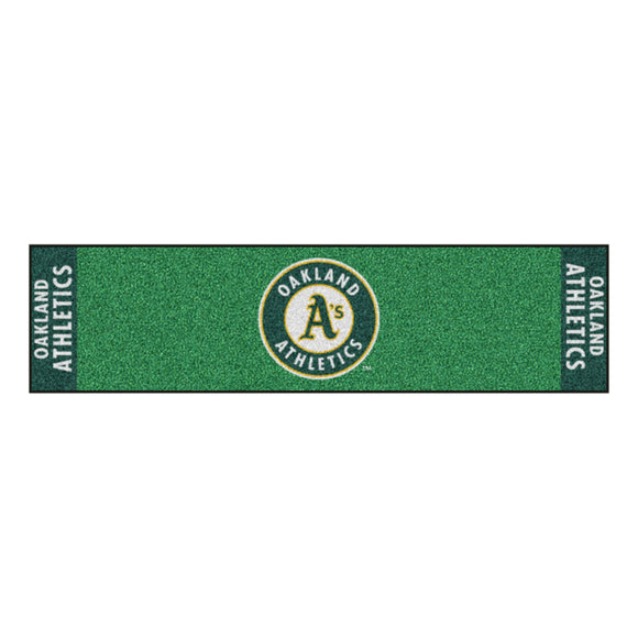 MLB - Oakland Athletics Putting Green Mat 18