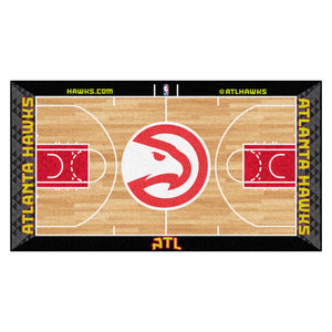 NBA - Atlanta Hawks NBA Court Large Runner 29.5x54