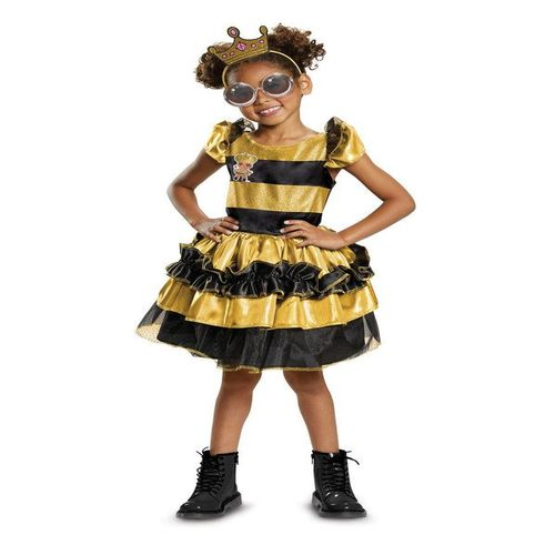 DELUXE QUEEN BEE L.O.L COSTUME FOR CHILDREN-7-8
